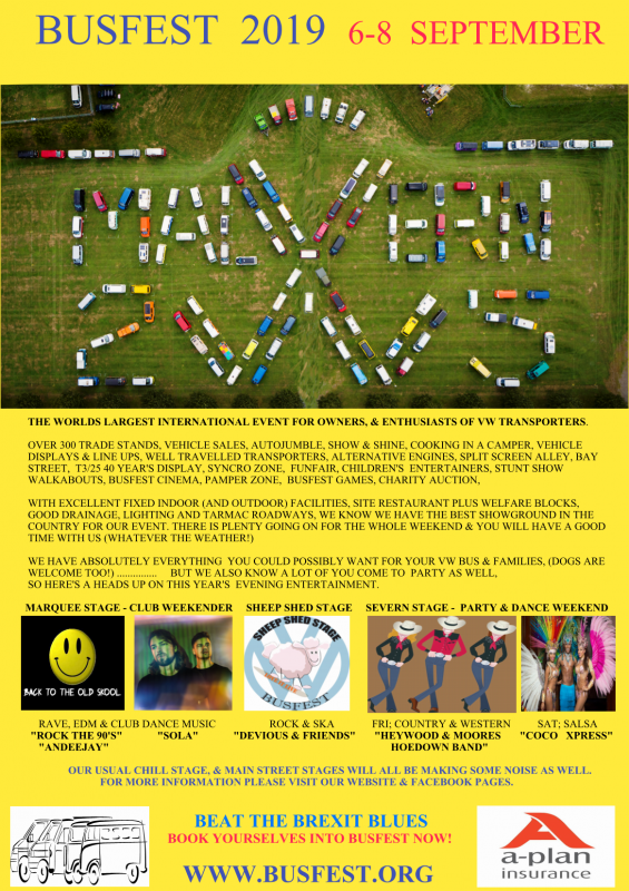 Busfest Homepage